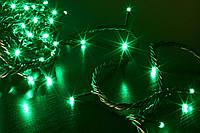 Гирлянда светодиодная зеленая 200ламп, фото 1