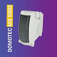 Тепловентилятор портативный DOMOTEC MS 5902 электрообогреватель дуйка 3 режима работы и холодный воздух PS
