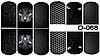 Слайдер дизайн (водная наклейка) для ногтей O-068