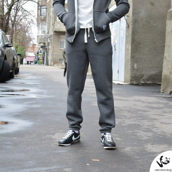 9cb140ae Теплые спортивные штаны мужские Red and Dog Pou Timberwolf -
