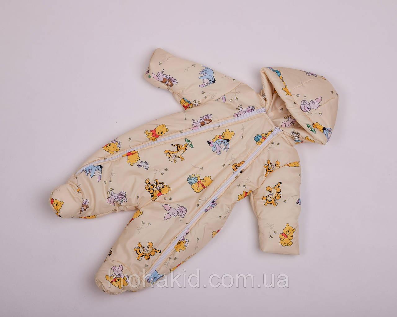 Дитячий демісезонний комбінезон для немовляти - осінній комбінезон для діток від 0 до 6 міс