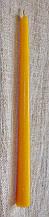Конусная восковая свеча D22-12-280мм из натурального пчелиного воска