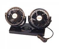 """Вентилятор автомобільний, подвійний діаметр 4 """", LA 180205"""