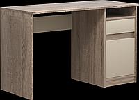 Комп'ютерний стіл Інтарсіо Jusk B 1200х786 мм Дуб сонома трюфель + латте (JUSK_B), фото 1