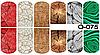 Слайдер дизайн (водная наклейка) для ногтей  O-075