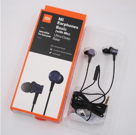 Навушники Xiaomi PISTON Basic з мікрофоном 5 кольорів!
