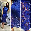 Платье с открытым плечами и двойной юбкой макраме (разные цвета), фото 4