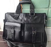 Мужская сумка-портфель для документов под формат А4. Деловой портфель. КС20