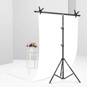 Фотофон виниловый, фон для фото предметной съемки Белый 120×200 см ПВХ