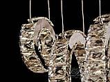 Кришталева люстра кільця Diasha 1626, фото 2