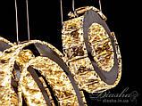 Кришталева люстра кільця Diasha 1626, фото 5