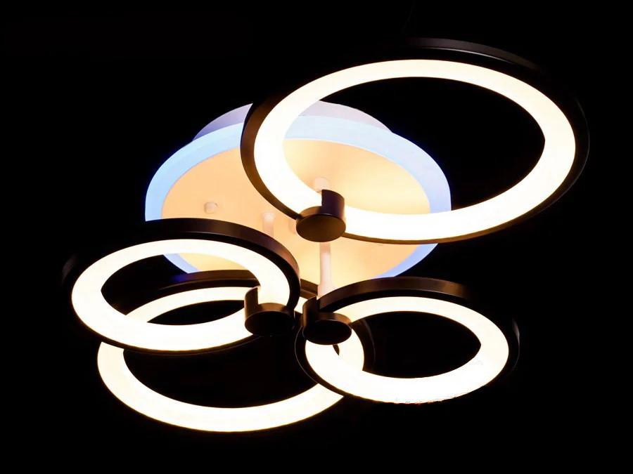 Світлодіодна люстра Diasha 8022/4BL LED dimmer