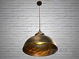 Люстра в стиле лофт на один плафон Diasha 6858-360-BK-G, фото 3