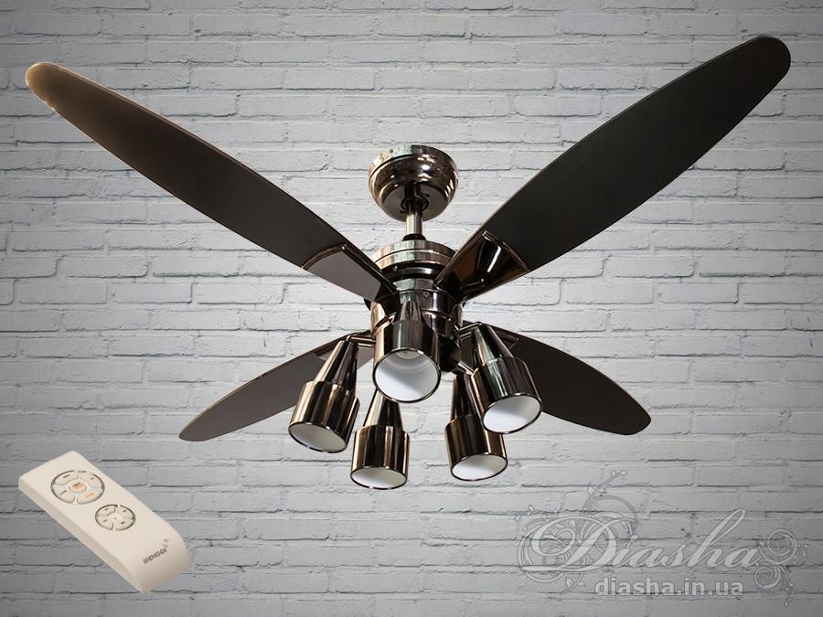 Люстри вентилятори з пультом Diasha VM248801/48