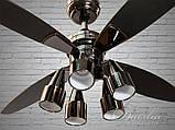 Люстри вентилятори з пультом Diasha VM248801/48, фото 2