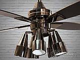 Люстри вентилятори з пультом Diasha VM248801/48, фото 3