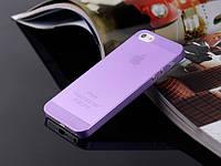 Пластиковый чехол для iPhone 5/5s лиловый