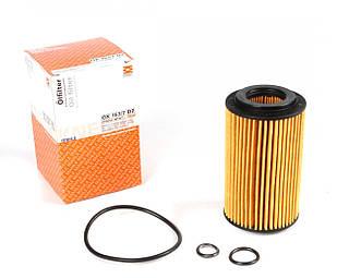 Масляний фільтр Mersedes Vito 639 2.2 CDI (двигун OM651) 2010 - KNECHT (Німеччина) OX153/7D2