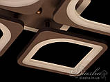 Люстри світлодіодні Diasha S8060/4CF LED 3color dimmer, фото 4