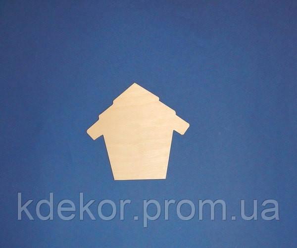 Будиночок (панно, ключниця) заготівля для декупажу та розпису