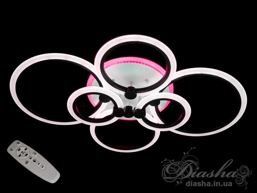 LED люстра Diasha A8022/6BK LED 3color dimmer