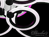 LED люстра Diasha A8022/6BK LED 3color dimmer, фото 8
