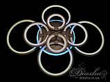 LED люстра Diasha 8022/8BK LED dimmer-2.4 G, фото 6