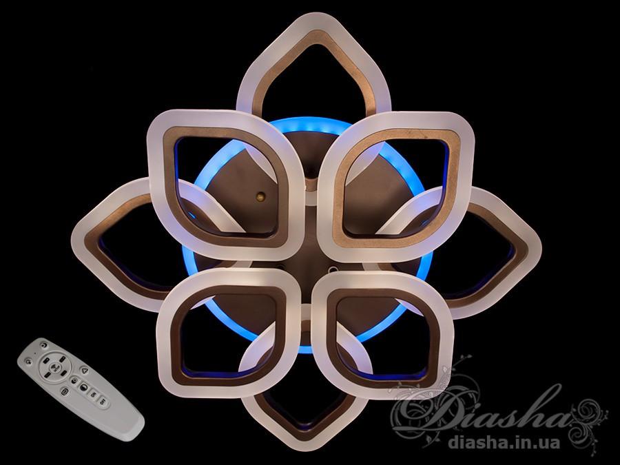 Cветодиодная люстра Diasha A3002/4+4CF LED dimmer