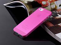 Пластиковый чехол для iPhone 5/5s сиреневый
