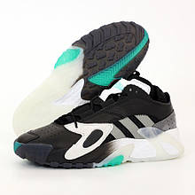 Мужские кроссовки в стиле Adidas Streetball, черно-белый, Вьетнам