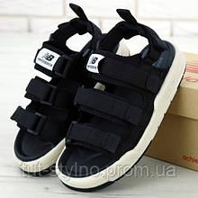 Мужские сандалии в стиле New Balance Caravan Multi Sandals, черный, Корея