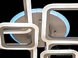 Люстры светодиодные Diasha A8160/6GR LED 3color dimmer, фото 6