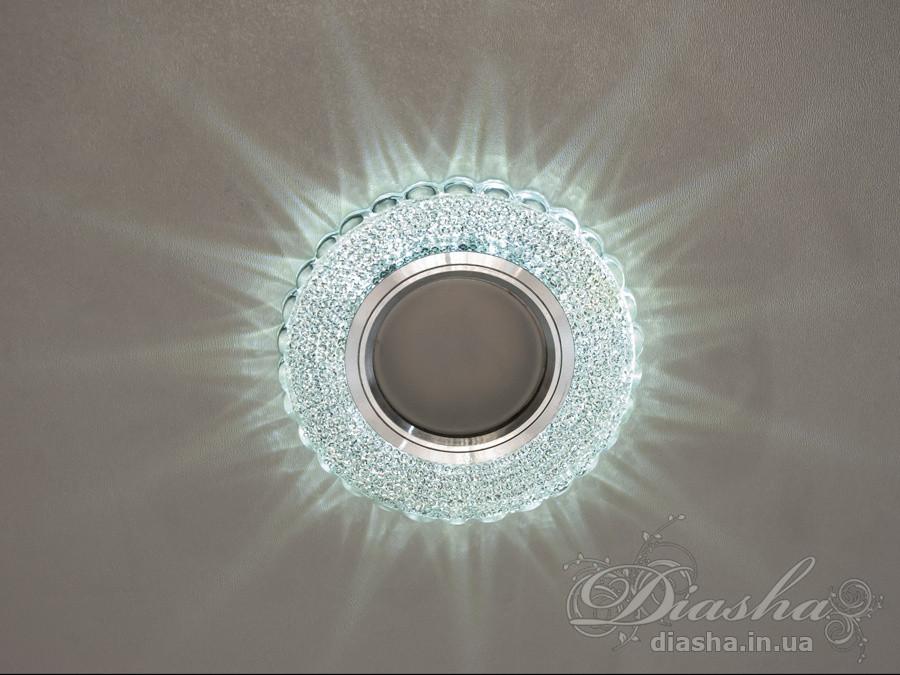 Точечные светильники с подсветкой Diasha 3703WH