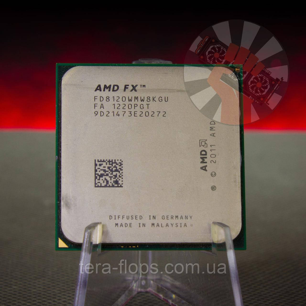 Процессор AMD FX-8120 Socket AM3+ (FD8120WMW8KGU) Б/У
