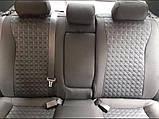 Авточохли на передні сидіння Fiat Nuovo Doblo 1+2 2015> van Favorite, фото 4