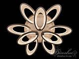 Світлодіодні люстри Diasha 1673/6+3WH LED 3color dimmer, фото 2