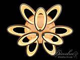 Світлодіодні люстри Diasha 1673/6+3WH LED 3color dimmer, фото 3