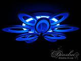 Світлодіодні люстри Diasha 1673/6+3WH LED 3color dimmer, фото 6