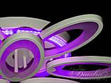 Світлодіодні люстри Diasha 1673/6+3WH LED 3color dimmer, фото 7