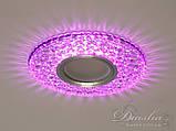 Точечные светильники с подсветкой Diasha 2302WH+PK, фото 4