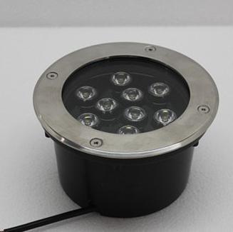 Підводний вбудований світильник 9*1W Одноколірний ip68 Ecolend