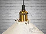 Люстра в стиле лофт на один плафон Diasha 6855-360-WH-G, фото 5