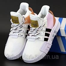 Женские кроссовки в стиле Adidas EQT BASK ADV, белый, розовый, коричневый, черный, Вьетнам