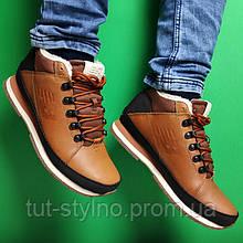 Оригинальные мужские зимние кроссовки New Balance 754, из натуральной кожи, (с мехом), коричневые, Вьетнам