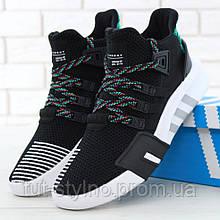 Мужские кроссовки в стиле Adidas EQT BASK ADV, черный, зеленый, белый, Вьетнам