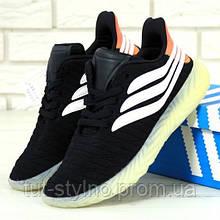 Мужские кроссовки в стиле Adidas Sobakov, черный, белый, оранжевый, Китай