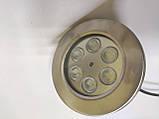 Підводний світильник світлодіодний 6W жовтий IP68 Ecolend, фото 4