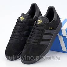 Мужские кроссовки в стиле Adidas Gazelle OG, черный, Вьетнам