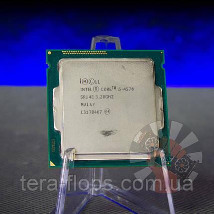 Процесор Intel Core i5 4570 LGA 1150 (BX80646I54570) Б/У, фото 2