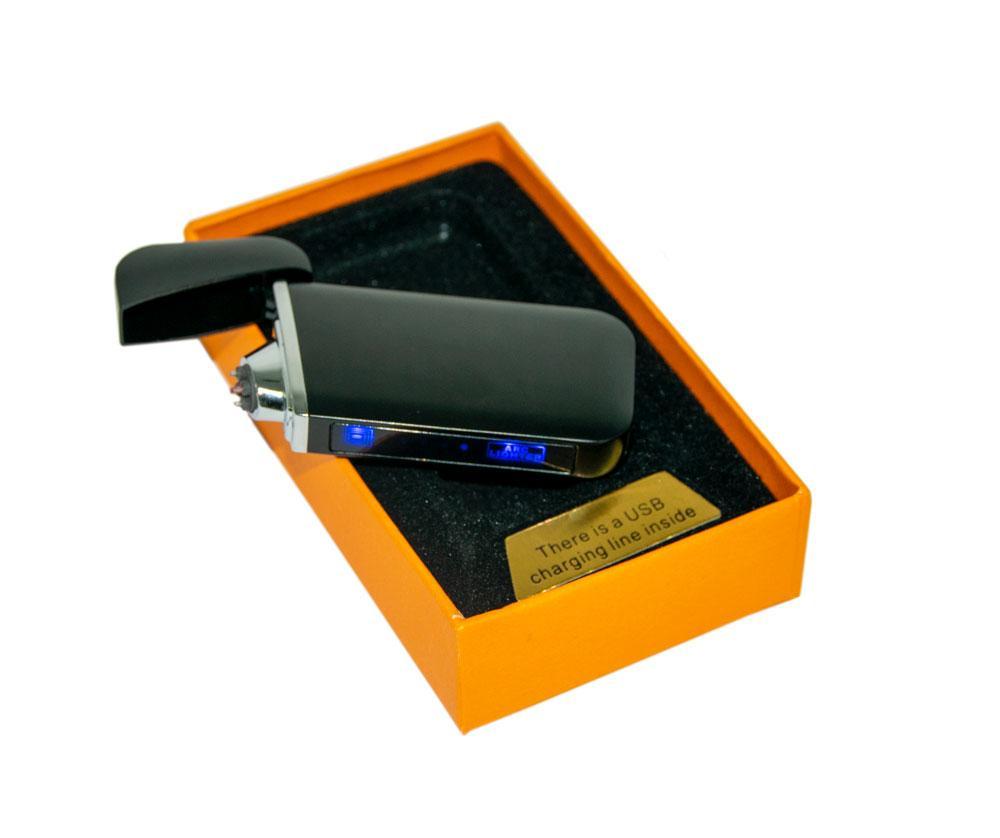 USB зажигалка электродуговая (ZGP 22 Глянцевая) сенсорная электрозажигалка аккумуляторная (GK)